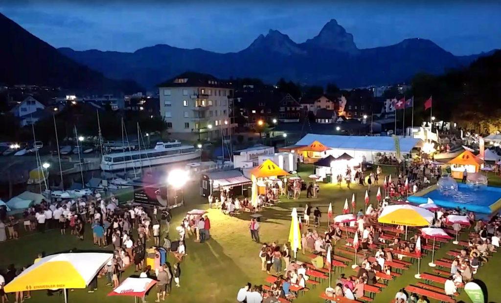 Windweek Festplatz, Konzept Segelwoche This Oberhänsli, www.this-oberhaensli.ch