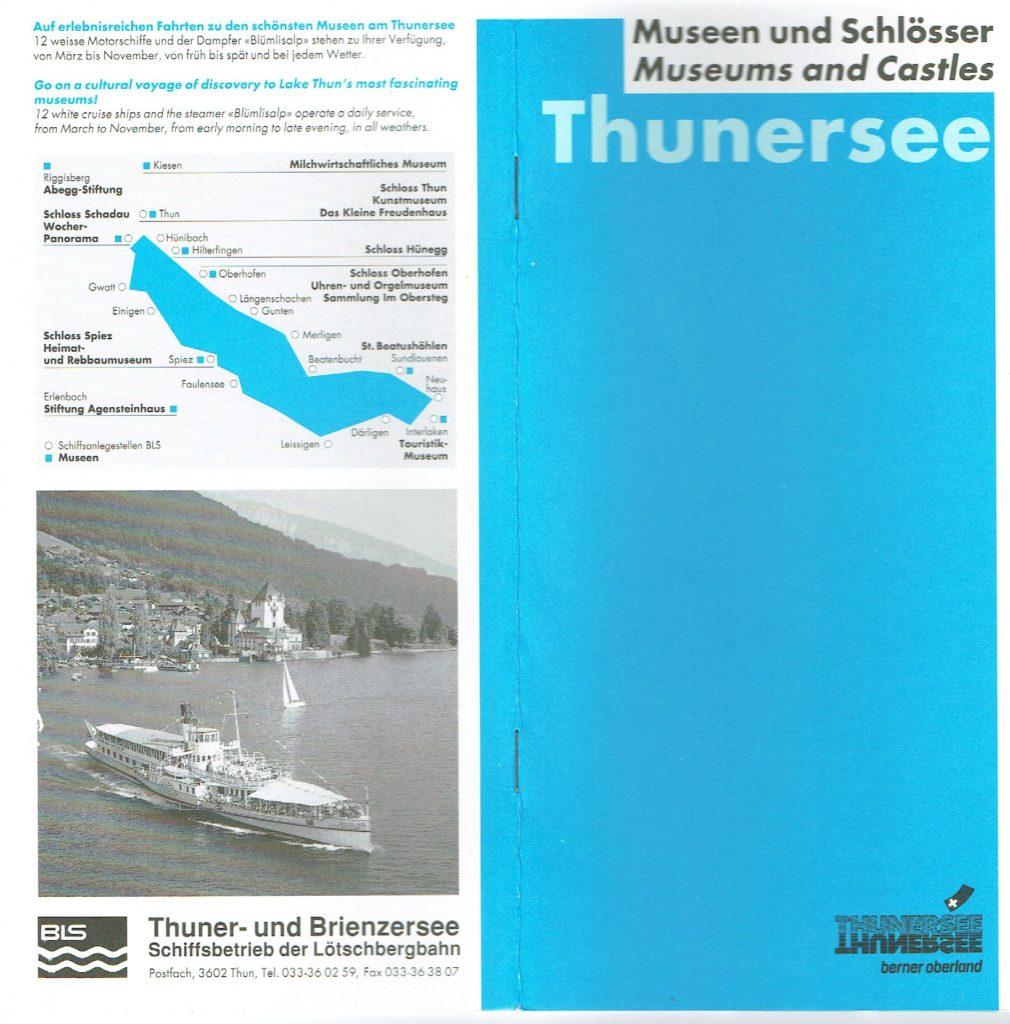 Museen und Schlösser Thunersee, www.this-oberhaensli.ch