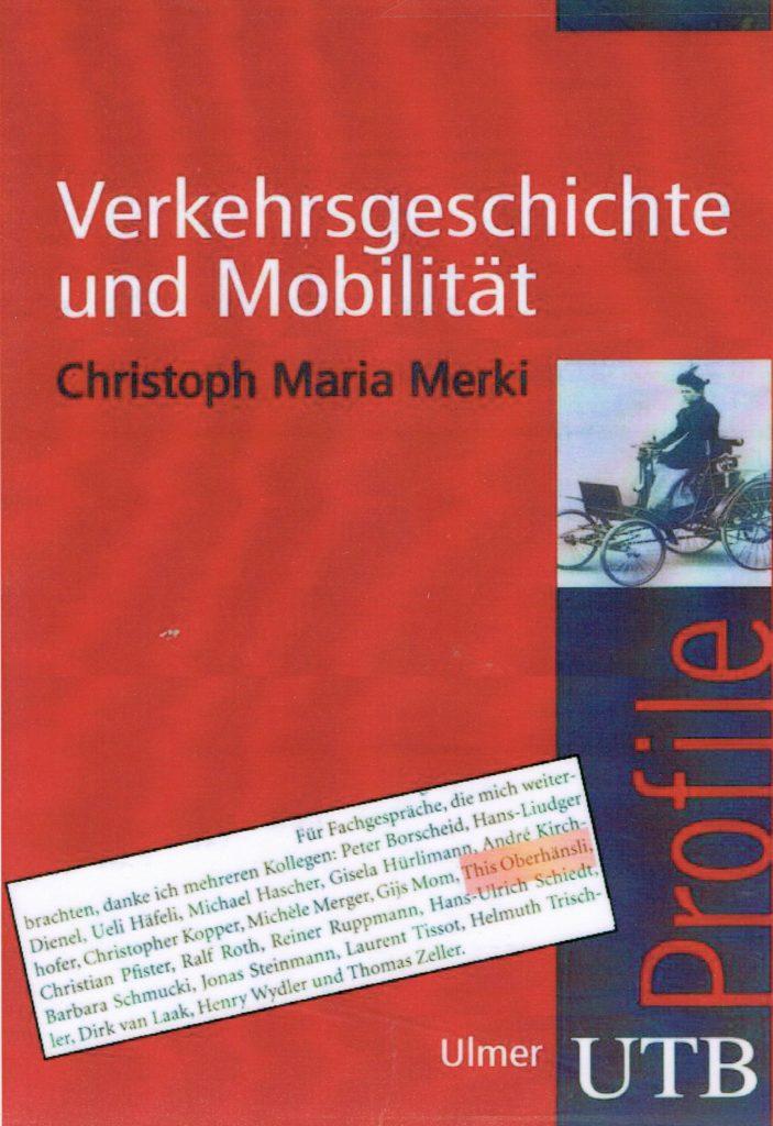 Verkehrsgeschichte UTB, Christoph Maria Merki, This Oberhänsli, www.this-oberhaensli.ch